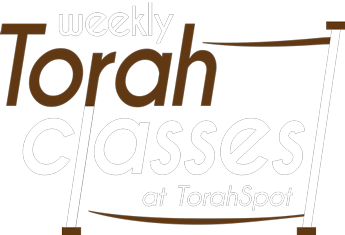 Weekly Torah Classes at TorahSpot